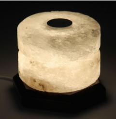 Соляной светильник Свеча-арома 2 кг