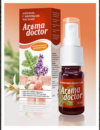 Эфирное масло от вируса и простуды Аромадоктор (спрей)